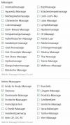 Kleinanzeigen im grünen Massage Forum