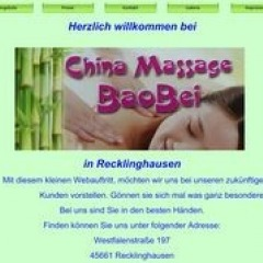 RE - China Massage Baobei in Recklinghausen