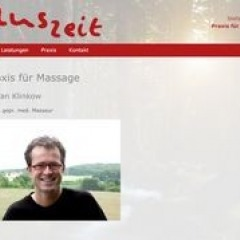 SG - Massage Auszeit Privatpraxis für Massage u. Lymphdrainage Stefan Klinkow in Solingen
